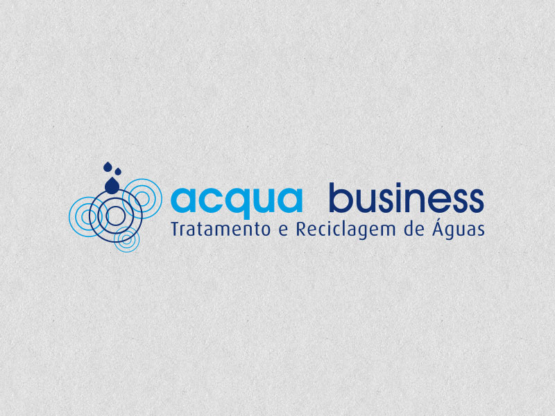 acqua business logotipo