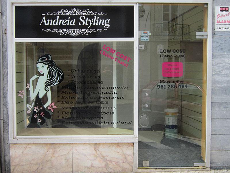 Andreia Styling Decoração de montra