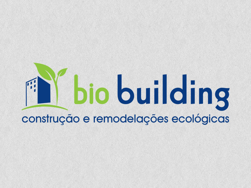 Bio Building logotipo identidade