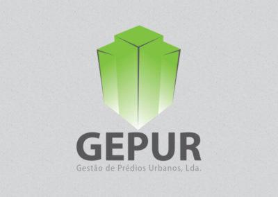 Gepur redesign de logotipo