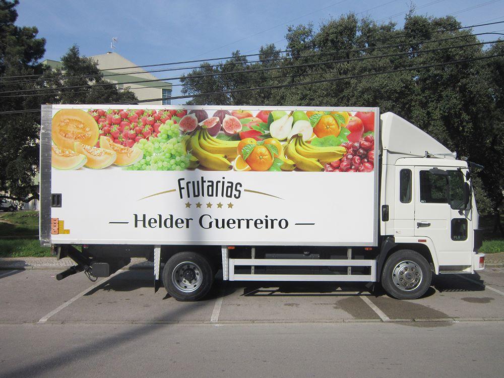 Helder Guerreiro Frutarias decoração de viatura