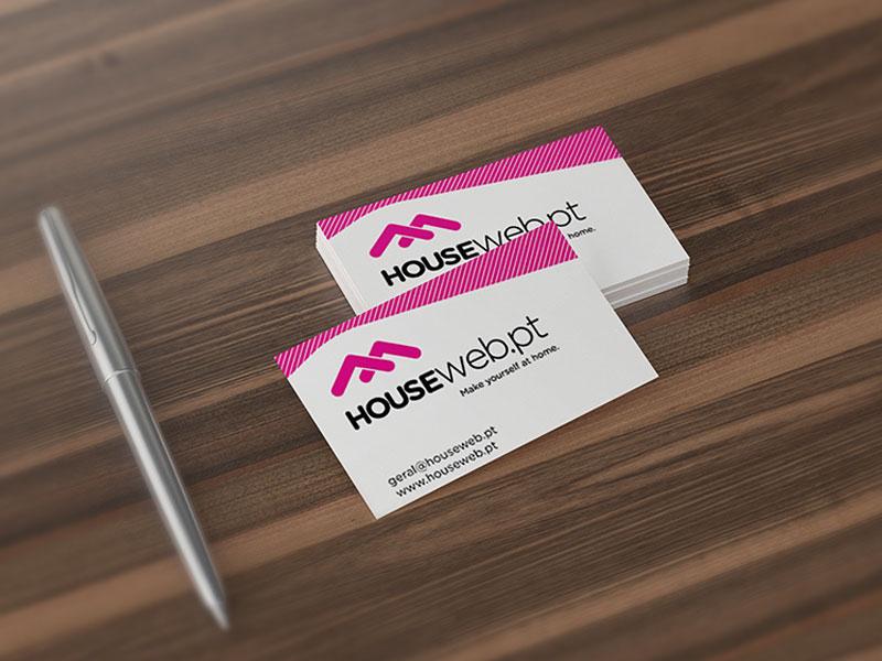 Houseweb Cartões de visita