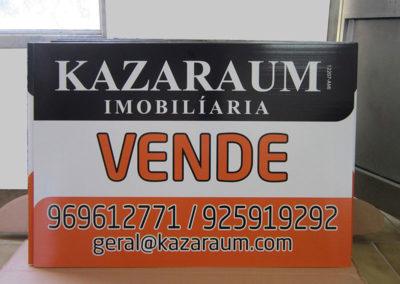 Kazaraum imobiliária placas