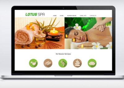 Lotus SPA website