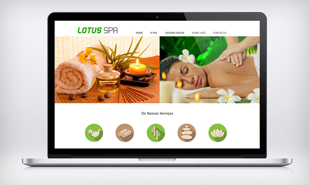 Lotus SPA website