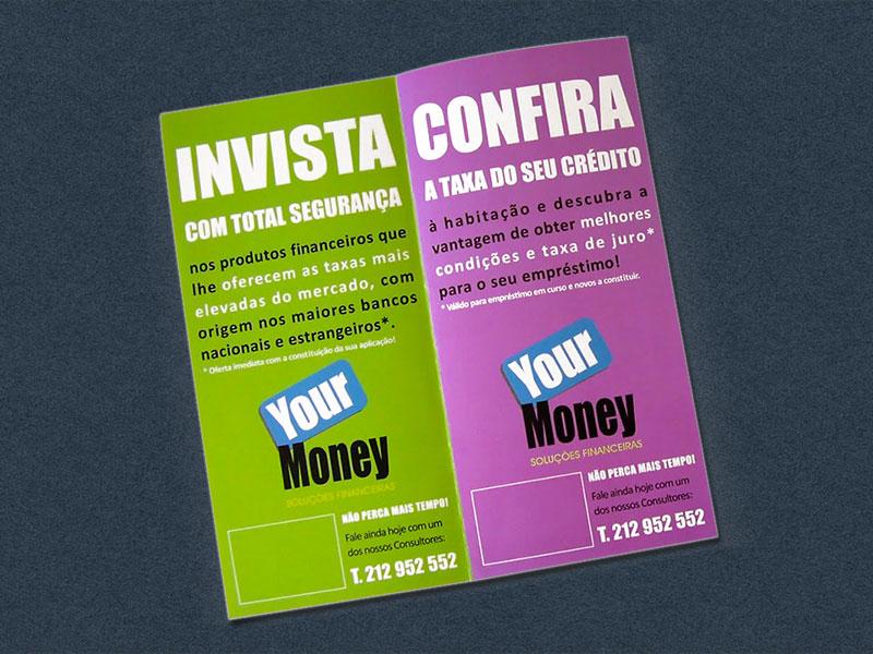 Your Money Folhetos