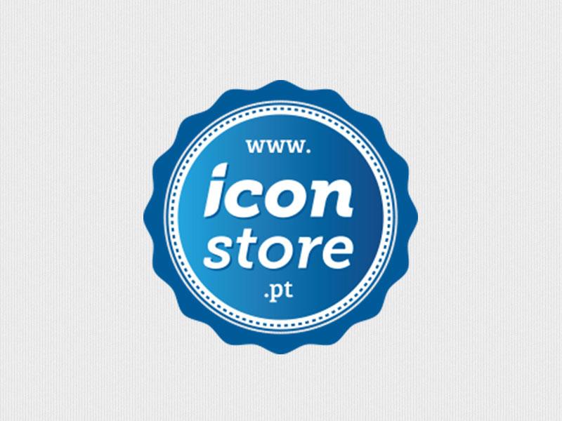 Iconstore logotipo identidade