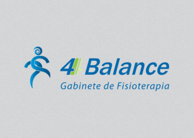 Quatro balance logotipo