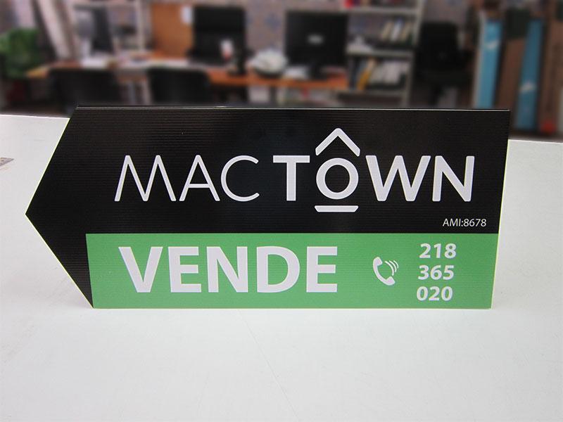 MacTown Placas Imobiliária