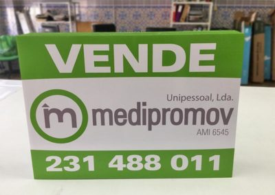 Medipromov placas vende imobiliária