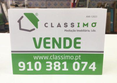 Classimo placas imobiliária