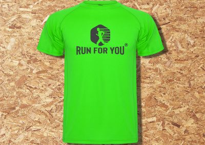 Run for you t-shirt Roly MONTECARLO