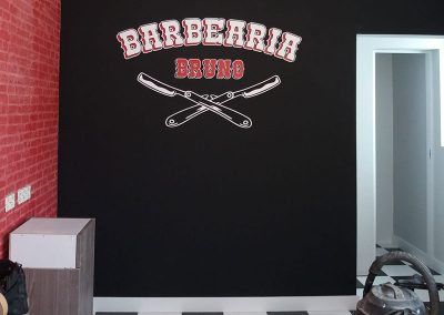 Barbearia Bruno interior