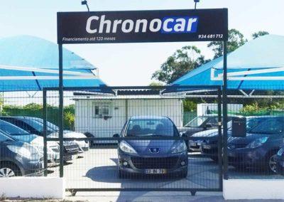 Chronocar Stand Placa Luxbond
